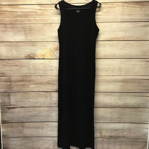 Sonoma Dresses Black Tank Top Maxi Dress Poshmark